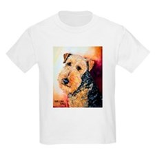 Airedale Terrier Portrait T-Shirt