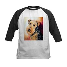 Airedale Terrier Portrait Baseball Jersey