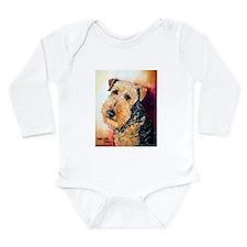 Airedale Terrier Portrait Body Suit