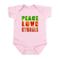 Peace Love Cymbals Infant Bodysuit