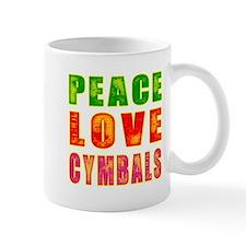 Peace Love Cymbals Mug