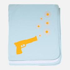 flower_gun baby blanket