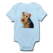 Airedale Terrier Portrait Body Suit
