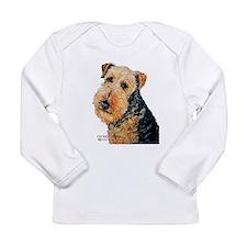 Airedale Terrier Portrait Long Sleeve T-Shirt