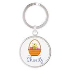 Easter Basket Charity Keychains
