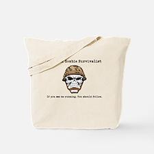 survivalist Tote Bag