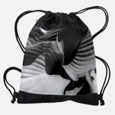 Leaves wc.jpg Drawstring Bag