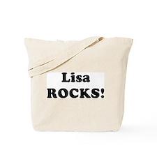 Lisa Rocks! Tote Bag