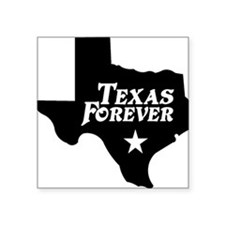 Texas Forever (Black - Cutout Ltrs) Sticker