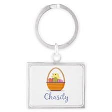 Easter Basket Chasity Keychains