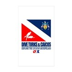 Dive Turks and Caicos Sticker
