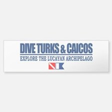 Dive Turks and Caicos Bumper Bumper Bumper Sticker