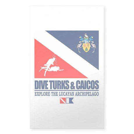 Dive Turks and Caicos Sticker
