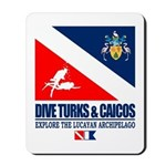 Dive Turks and Caicos Mousepad