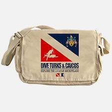 Dive Turks and Caicos Messenger Bag