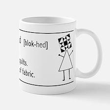 Block-head Mug