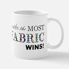 Most Fabric Wins Mug