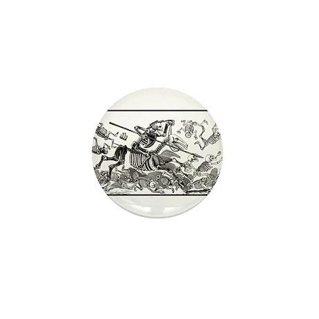 Don Quixote Calavera Mini Button