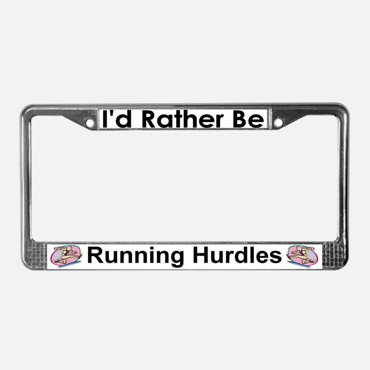 track and field licence plate frames track and field license plate covers cafepress. Black Bedroom Furniture Sets. Home Design Ideas
