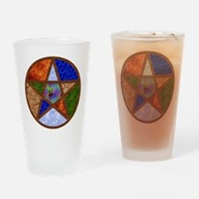 Elemental Pentacle Drinking Glass