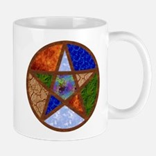 Elemental Pentacle Mug