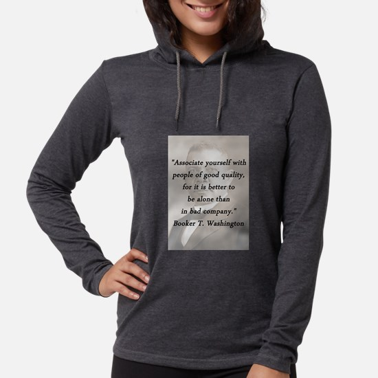 B_Washington - Associate Yourself Womens Hooded Sh