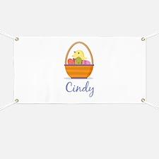 Easter Basket Cindy Banner