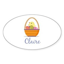 Easter Basket Claire Decal