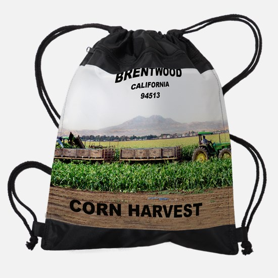 brentwood_corn_harv... Drawstring Bag