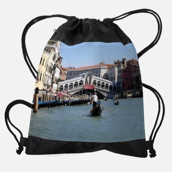 Grand Canal2.jpg Drawstring Bag