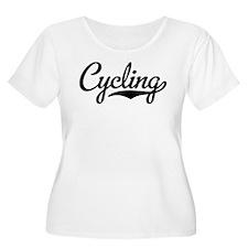Cycling Plus Size T-Shirt
