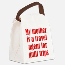 Mothers and Guilt Trips Canvas Lunch Bag