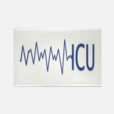 ICU - EKG Rectangle Magnet
