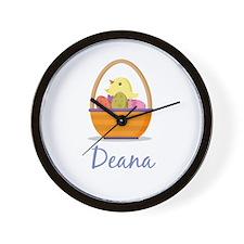 Easter Basket Deana Wall Clock