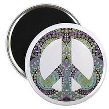 Groovy Summer Peace Magnet