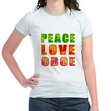 Peace Love Oboe T