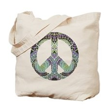 Groovy Summer Peace Tote Bag