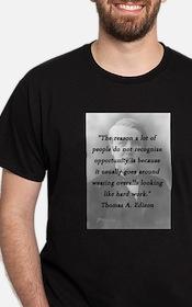 Edison - Hard Work T-Shirt