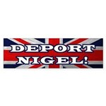 Deport Nigel Bumper Sticker