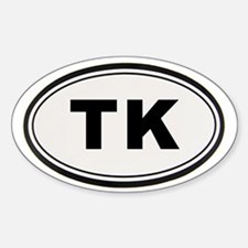TK Bumper Decal
