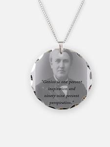 Edison - Genius Necklace