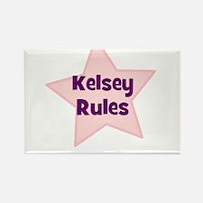 Kelsey Rules Rectangle Magnet