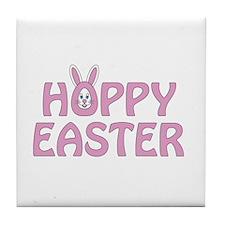 Hoppy Easter Tile Coaster