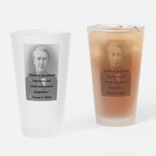 Edison - Genius Drinking Glass