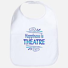 Happiness is Theatre Bib