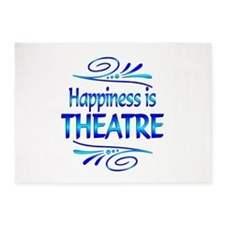 Happiness is Theatre 5'x7'Area Rug