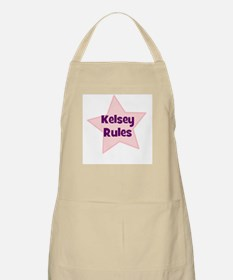 Kelsey Rules BBQ Apron