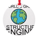 Worlds Greatest Structural Engineer Ornament