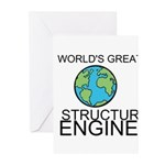 Worlds Greatest Structural Engineer Greeting Cards