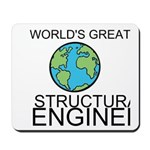 Worlds Greatest Structural Engineer Mousepad